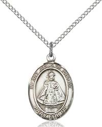 Infant of Prague Patron Saint Necklace