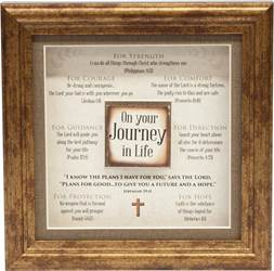 Inspirational Wall Decor-On Your Journey in Life