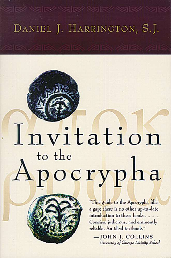 Invitation to the Apocrypha 0-8028-4633-5,9780802746334, 978-0-802746-33-4, teacher resource, continuing education, paulVI institute, learning,
