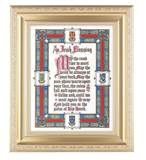 Irish Blessing 8 x 10 Satin Gold Framed Print