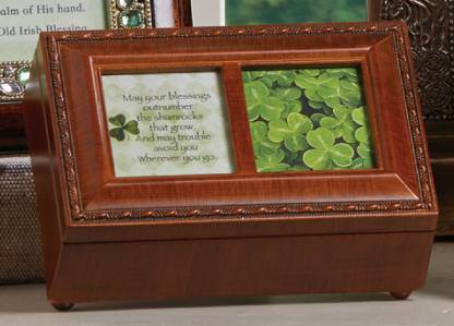 Irish Blessing Music Box