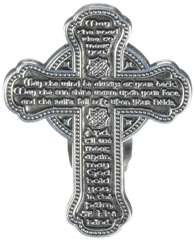 Irish Blessing Visor Clip