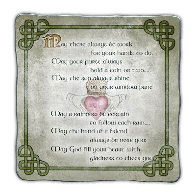 Irish Blessings Plaque