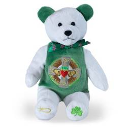 Irish Claddagh Holy Bear