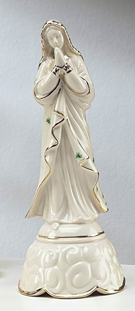 Irish Madonna Musical Statue