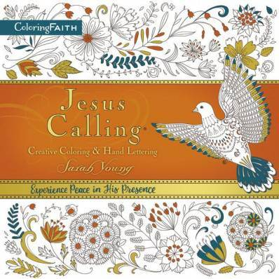 Jesus Calling Adult Coloring Book: Creative Coloring & Hand Lettering