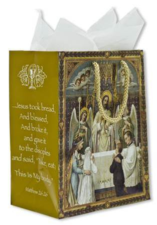 Jesus First Communion Gift Bag gift bag, present wrap, first communion, eucharist,