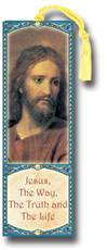 Jesus, The Way The Truth The Life Laminated Bookmark