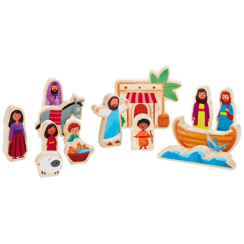 Jesus and Friends Wood Play Set