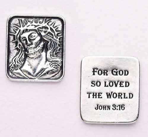 John 3:16 Pocket Token