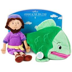 Jonah and the Big Fish Doll Set