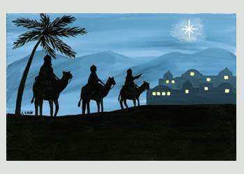 'Journey of the Three Kings' Boxed Christmas Cards