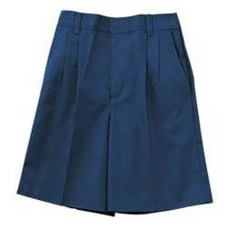 Boys K12 Pleated Shorts Navy boys shorts, school shorts, navy shorts, regular, slim, husky, uniform shorts, pleated shorts, school uniforms, 6540JR, 6540BR,6540BS
