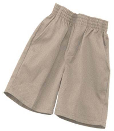 'K12' Khaki Pull On Short