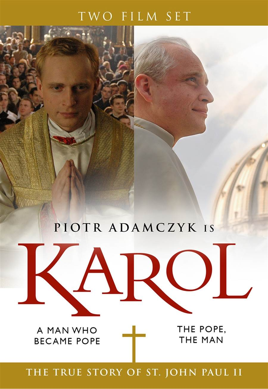 Karol The Man Who Became Pope The Pope The Man DVD