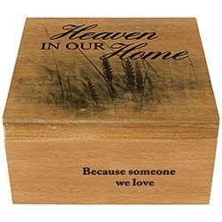 Keepsake Memory Box Home