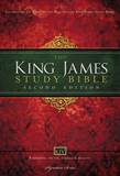 King James Study Bible Bible, Large Print, Hardcover, Red Letter Edition