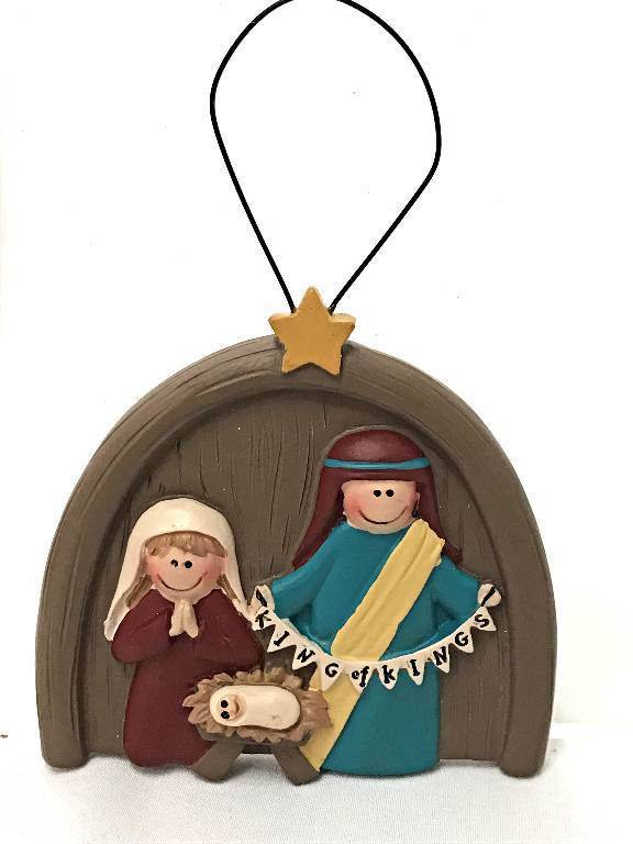 King of Kings Nativity Ornament *WHILE SUPPLIES LAST*
