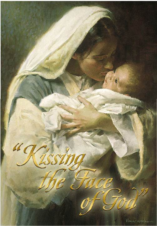 Kissing the Face of God Boxed Christmas Cards