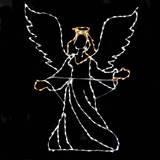 LED Mini Lights Angel Front Facing
