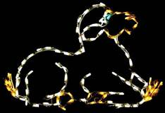 LED Mini Lights Nativity Lamb