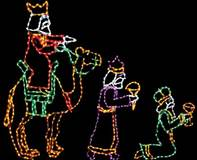 LED Mini Lights Wisemen