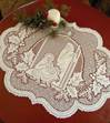 Lace Nativity Placemat