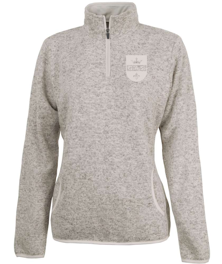 Ladies Quarter Zip w/ Embroidered School Logo *Spiritwear*