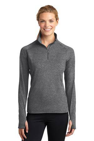 BEST SELLER! Ladies Quarter Zip Performance Pullover with Embroidered School Logo *Spiritwear* - 106000