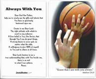 Laminated Prayer Card-Basketball