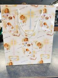 "Large Baptism Gift Bag 10.5"" X 9"" Size"