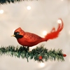 Large Cardinal Clip on Ornament