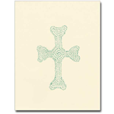 Large Celtic Cross Note Cards with Envelopes, 12/box
