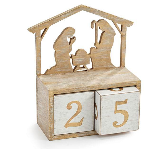 Laser Cut Nativity Calendar