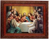 Last Supper (Bonella) 8 1/4 x 10 1/4 Framed Print