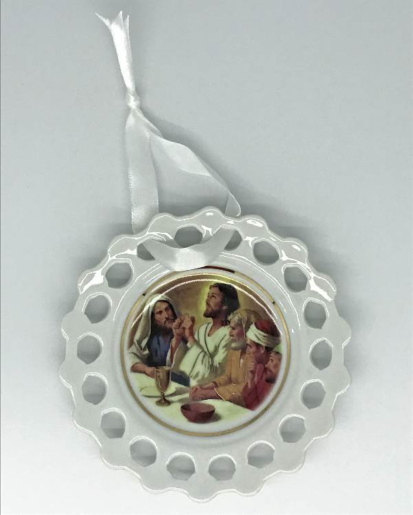 Last Supper Mini Collectible Plate