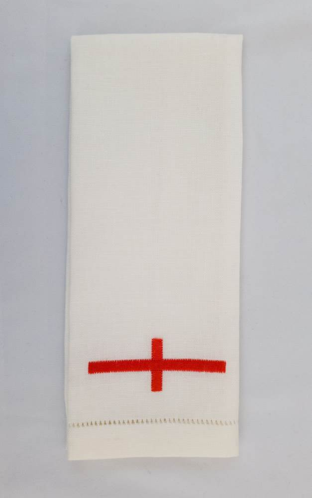 Lavabo Towel - Red Cross by Sorgente