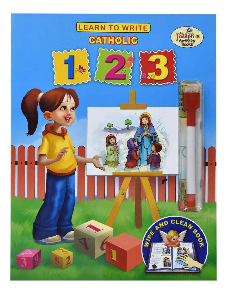 Learn To Write Catholic 123