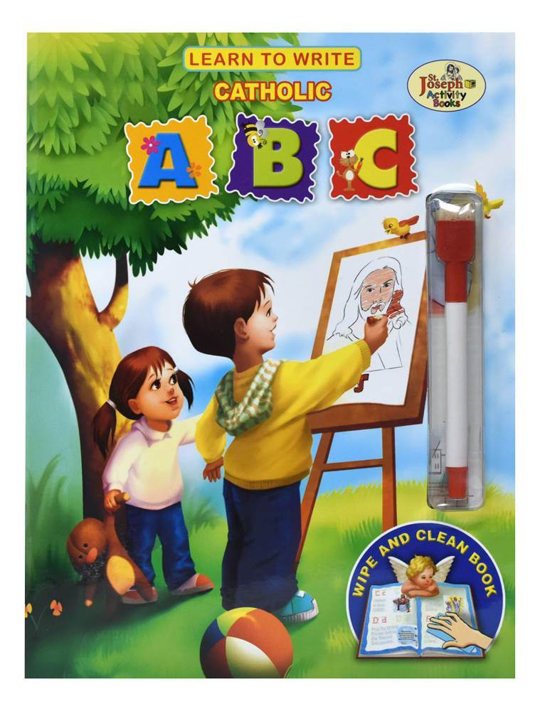 Learn To Write Catholic ABC