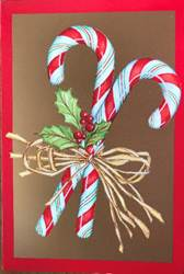 Candy Cand Box Christmas Cards