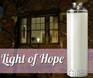 Light of Hope 14 Day Glass Bottle Candle