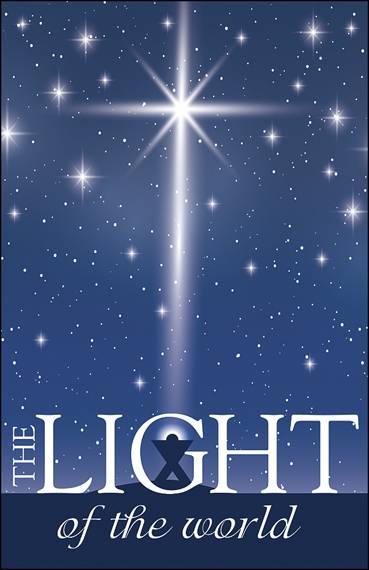light of the world christmas bulletin 100 pk