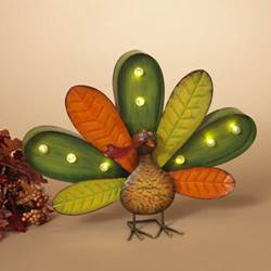 Lighted Turkey