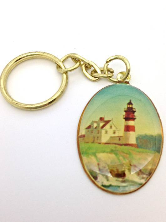 Lighthouse Keychain/12 PK