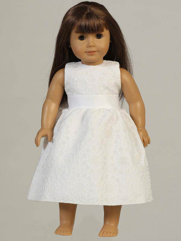 First Communion Doll Dress