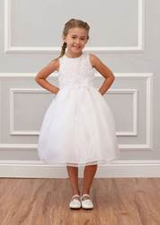 white 1st communion dress