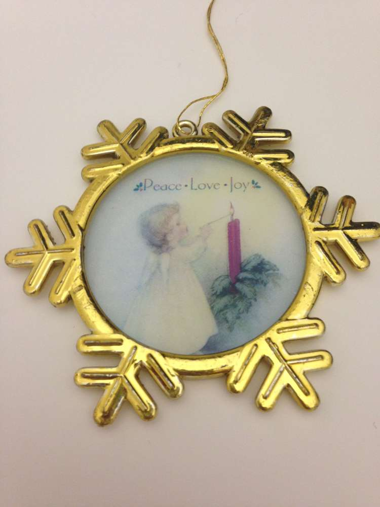 Little Angel Snowflake Ornament *WHILE THEY LAST*