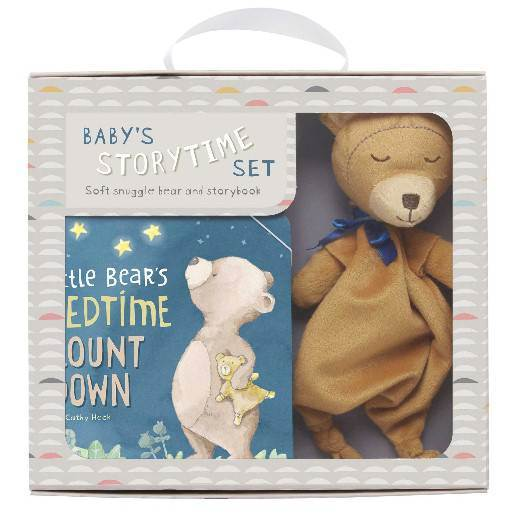 Little Bears Bedtime Countdown Book and Plush Bear Set