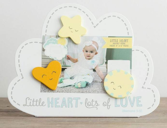 Little Heart, Lots of Love Magnetic Frame
