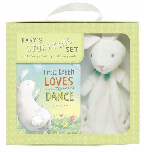 Little Rabbit Loves to Dance Book and Plush Rabbit Set